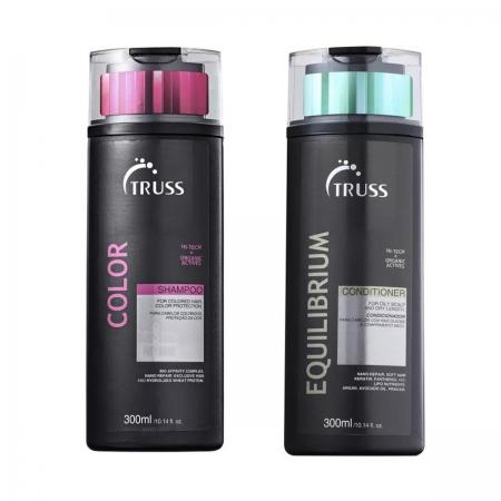 Kit Truss Color Shampoo 300ml e Condicionador Equilíbrio 300ml