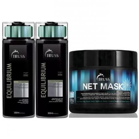 Kit Truss Equilibrio Sh300ml Cond300ml e Más.Net Mask550ml