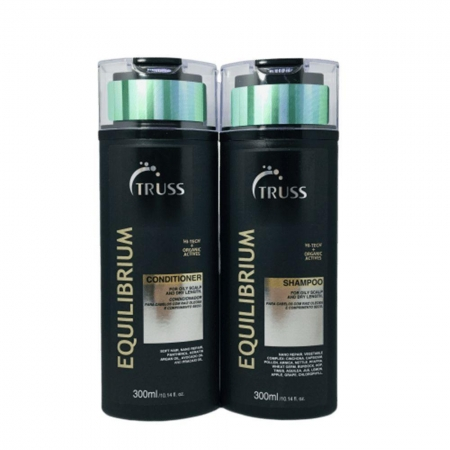 Kit Truss Equilibrio  Shampoo 300ml e  Condicionador 300ml Cab. Misto