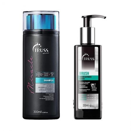 Kit Truss Miracle Shampoo 300ml e Brush 250ml