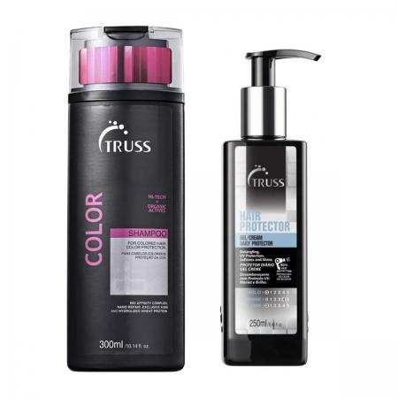 Kit Truss Shampoo Color 300ml e Hair Protect 250ml