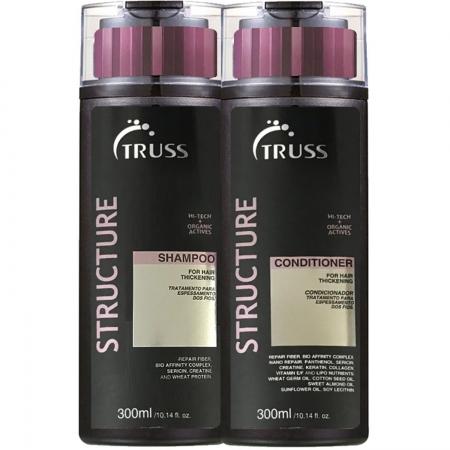 Kit Truss Structure Shampoo 300ml Condicionador 300ml  Restaurador