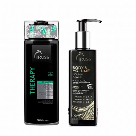 Kit Truss Therapy shampoo300ml e Body  Volume 250ml
