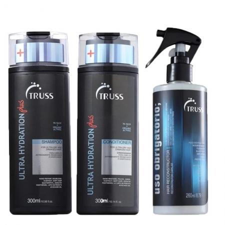 Kit Truss Ultra Hydration Sh. Plus300ml Cond.Plus300ml + UsoObri260ml