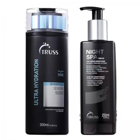 Kit Truss Ultra Hydration Shampo300ml e Night Spa 250ml