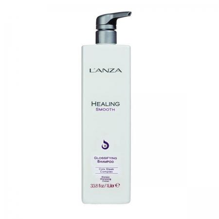 Lanza Healing Smooth Glossifying Shampoo 1 Litro Cab. Ondul