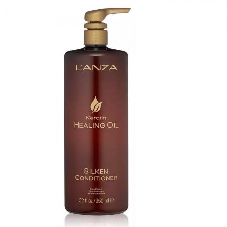 Lanza Keratin Healing Oil Silken Conditioner 950ml
