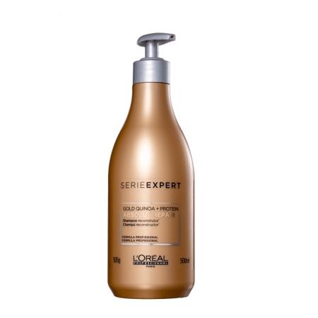 Loreal Profissional Gold Quinoa Absolut Repair Shampoo 500ml