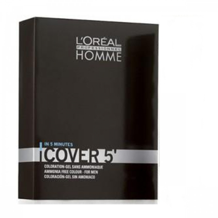 Loreal Profissional Homme Cover 5 (Louro Escuro N°6 c/OX 20Volumes