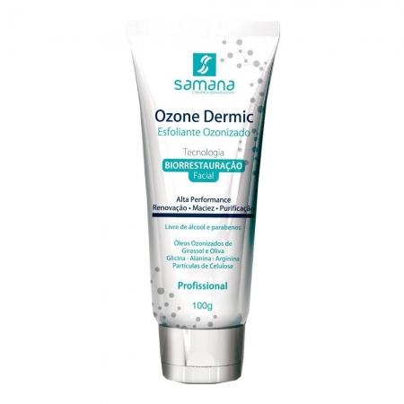 Samana Ozone Dermic Esfoliante Facial Ozonizado 100g