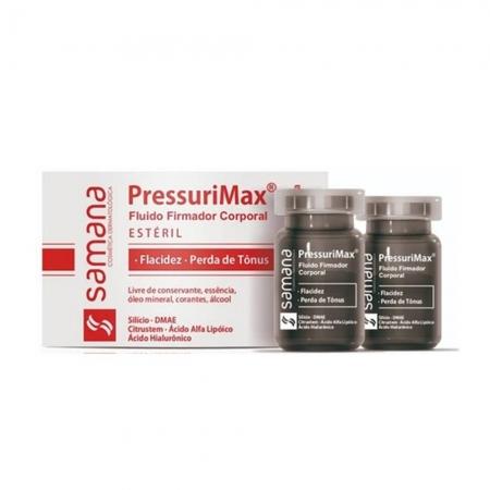 Samana Pressurimax Fluido Firmador  2 Unid  (5 ml cada)