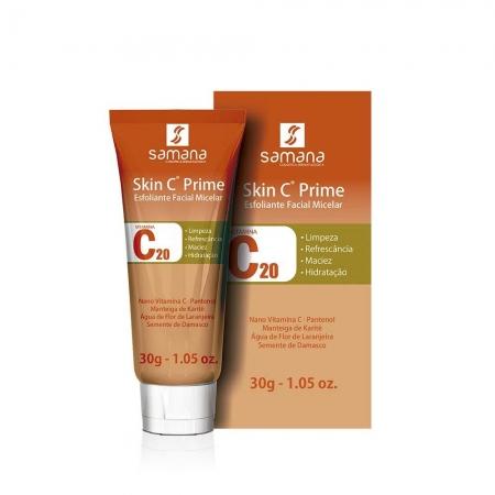 Samana Skin C Prime Esfoliante Facial Micelar 30g