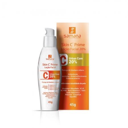 Samana Skin C Prime Loção Facial Urban Care 20% 45g