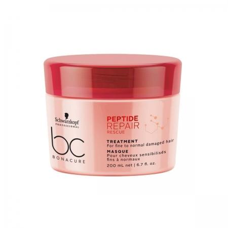 Schwarzkopf BC Bonacure - Peptide Repair Rescue - Máscara 200 ml