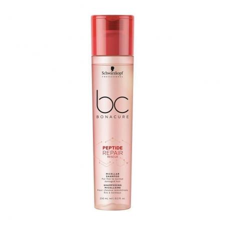 Schwarzkopf BC Bonacure - Peptide Repair Rescue - Shampoo Micelar 250 ml