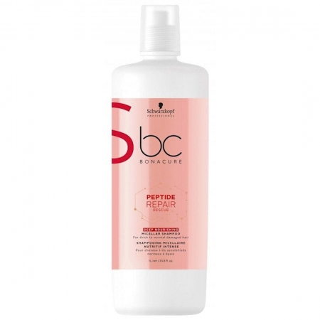 Schwarzkopf Peptide Repair Rescue - Shampoo Deep Nourishing 1L