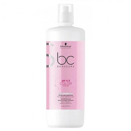 Schwarzkopf pH 4.5 Color Freeze - Shampoo Micelar Silver 1000 ml