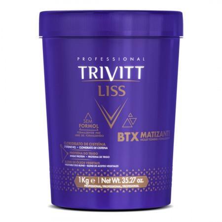 Trivitt Liss BTX Matizante Sem Formol 1kg