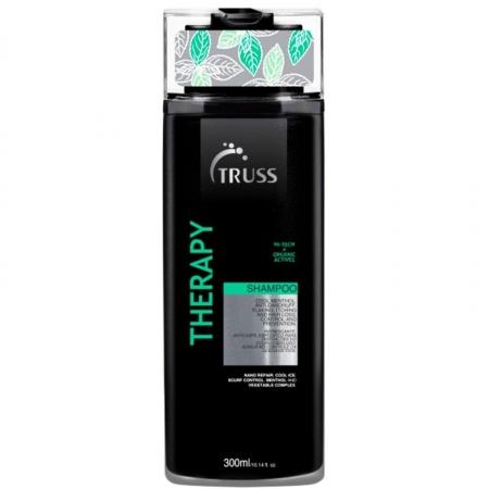 Truss Therapy Shampoo 300ml Cabelos Oleoso Limpa Trata Couro Cabeludo