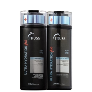 Kit Truss Ultra Hydration Plus Sh300ml e Cond.300ml  Cab. Secos
