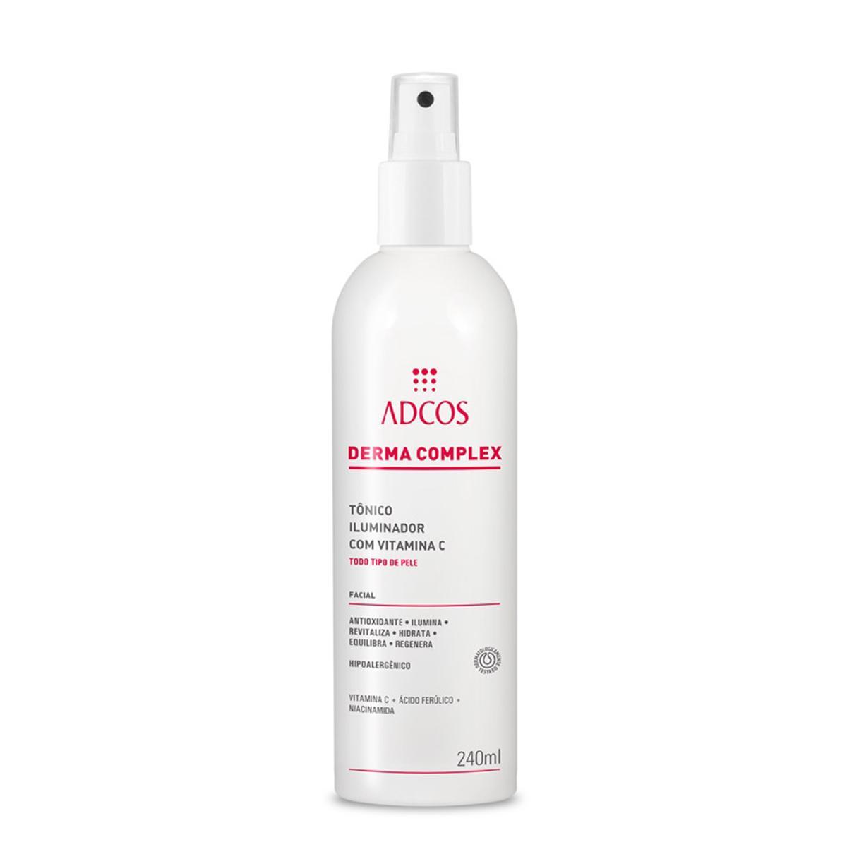 Adcos professional Derma Complex Tônico Iluminador c/ Vitamina C 240ml