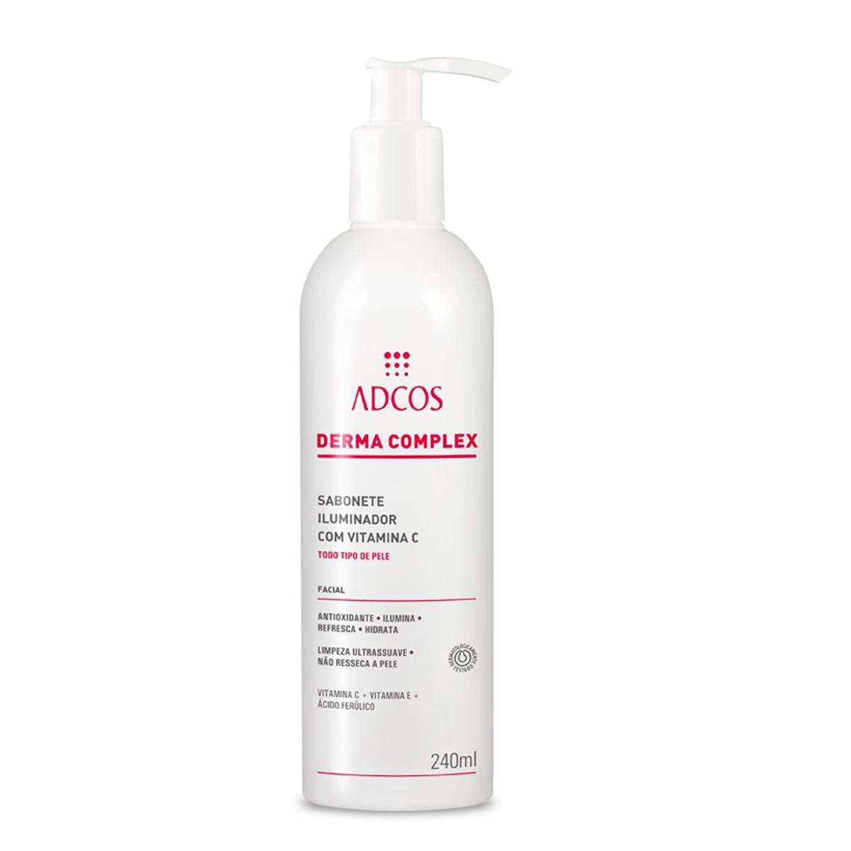 Adcos professional Derma  Sabonete Iluminador c/Vitamina C 240ml
