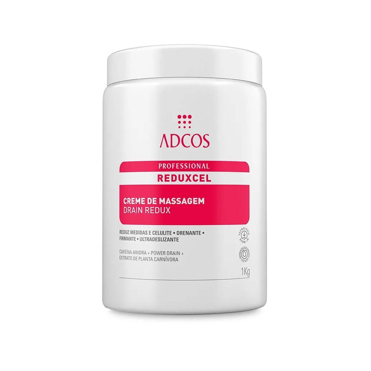 Adcos Profissional Reduxcel Creme de Massagem Drain Redux 1kg