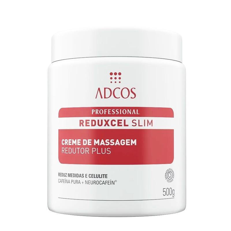 Adcos Profissional Reduxcel Slim Creme de Massagem Redutor Plus 500g