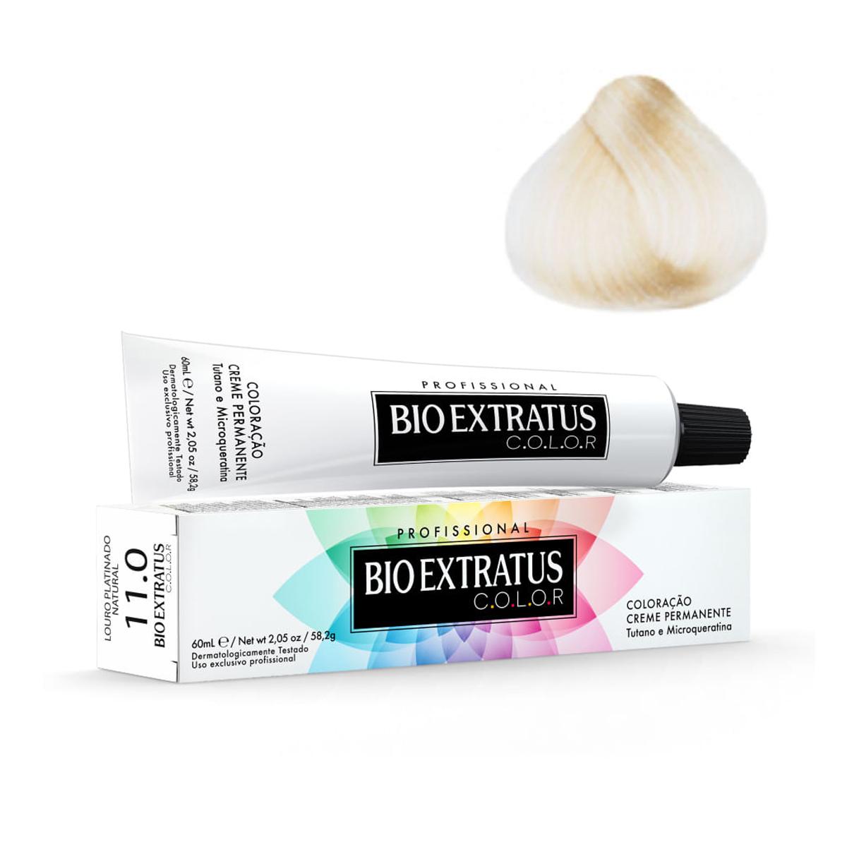 Bio Extratus Coloração 11.0 Louro Platinado Natural 60mL