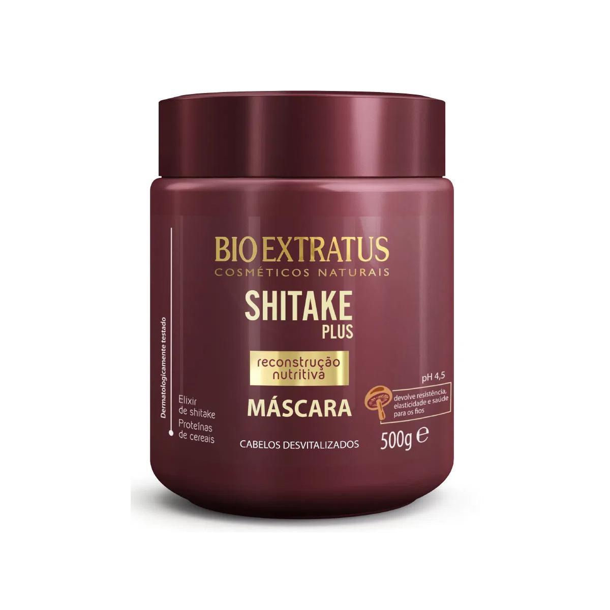 Bio Extratus Shitake Plus Máscara 500gr