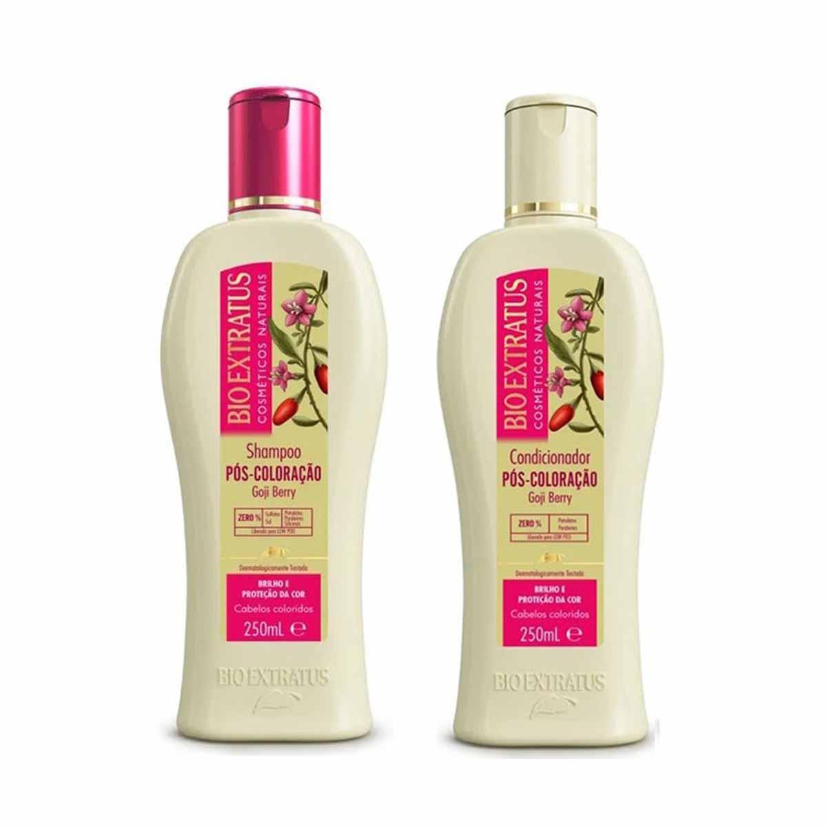 Kit Bio Extratus Pós coloração Shampoo 250ml e Cond. 250ml
