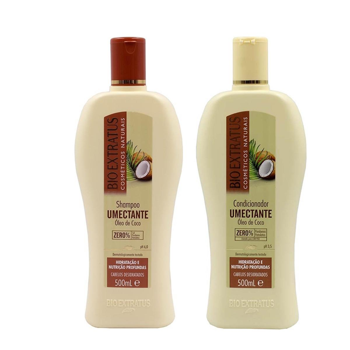 Kit Bio Extratus Umectante Shampoo 500ml e Cond. 500ml