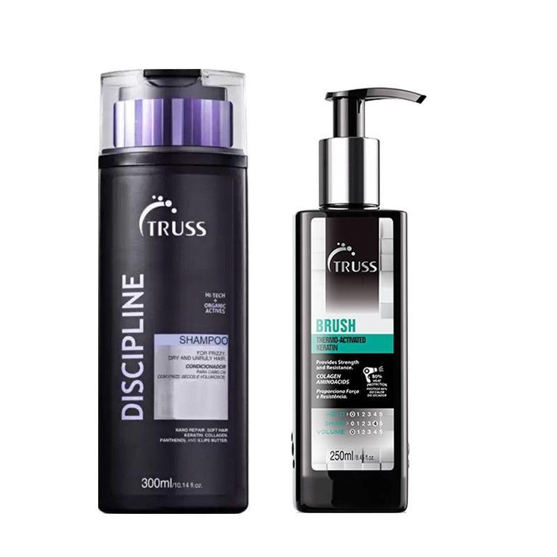 Kit Truss Discipline Shampoo300ml e Brush 260ml