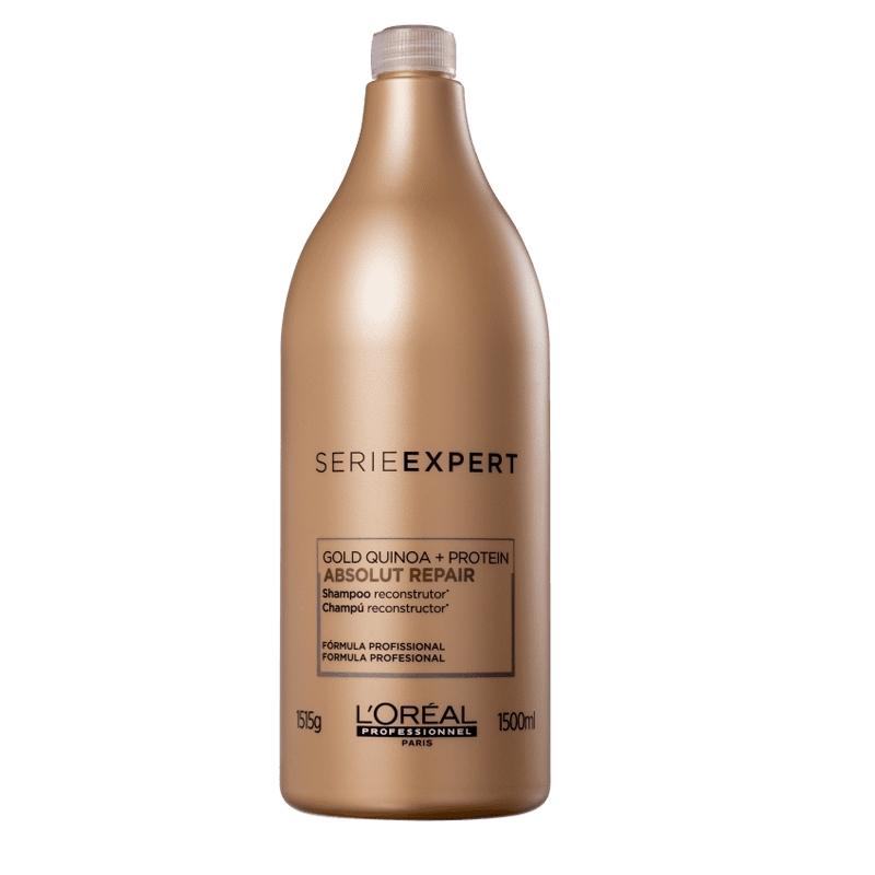 Loreal Profissional Gold Quinoa Absolut Repair Shampoo 1500ml