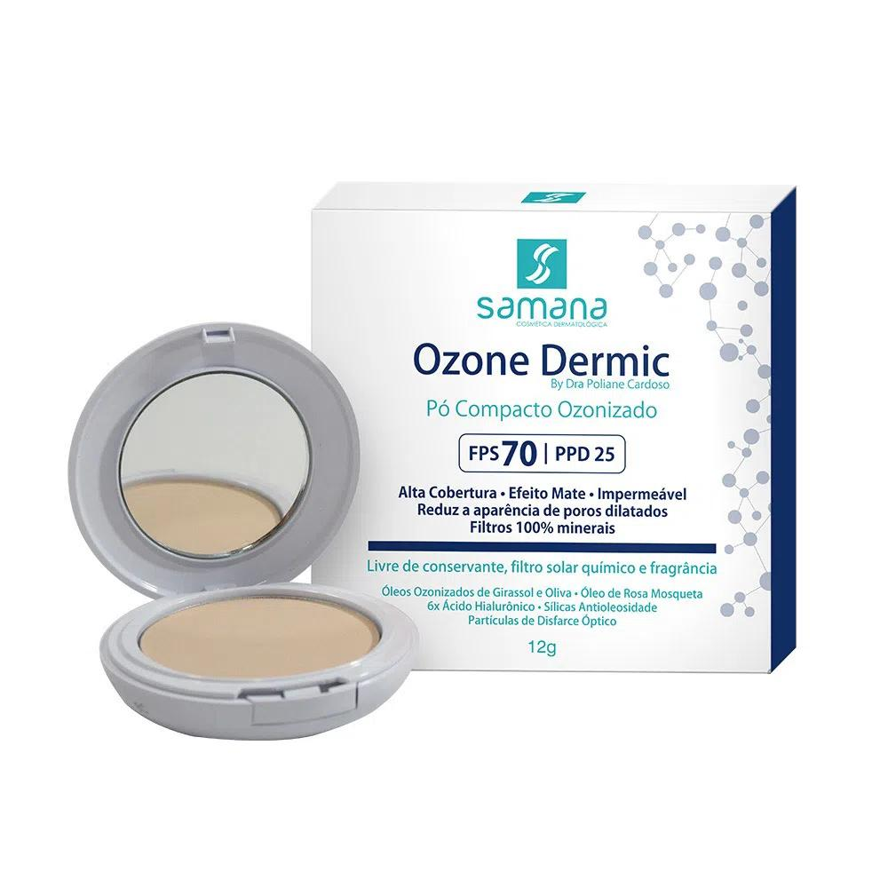 Samana Ozone Dermic Pó Compacto FPS70 Bege 12g