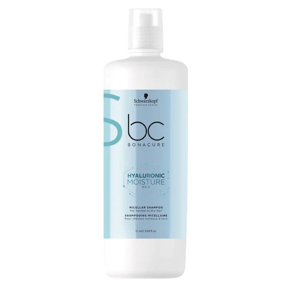 Schwarzkopf Hyaluronic Moisture Kick - Shampoo Micelar 1000 ml