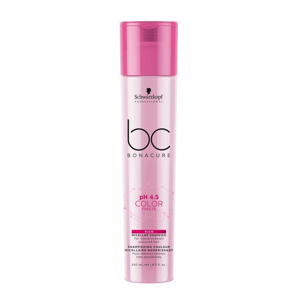 Schwarzkopf pH 4.5 Color Freeze - Shampoo Micelar Enriquecido 250 ml