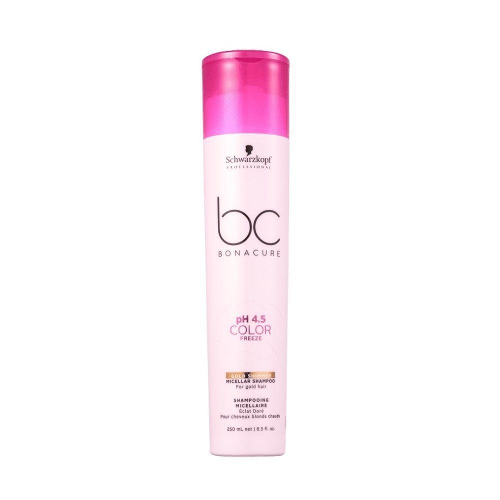 Schwarzkopf pH 4.5 Color Freeze - Shampoo Micelar Gold 250 ml