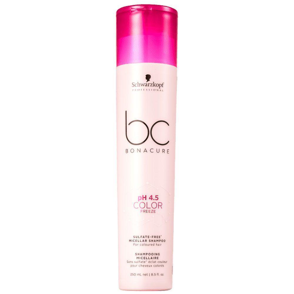 Schwarzkopf pH 4.5 Color Freeze - Shampoo Micelar Sem Sulfatos 250 ml