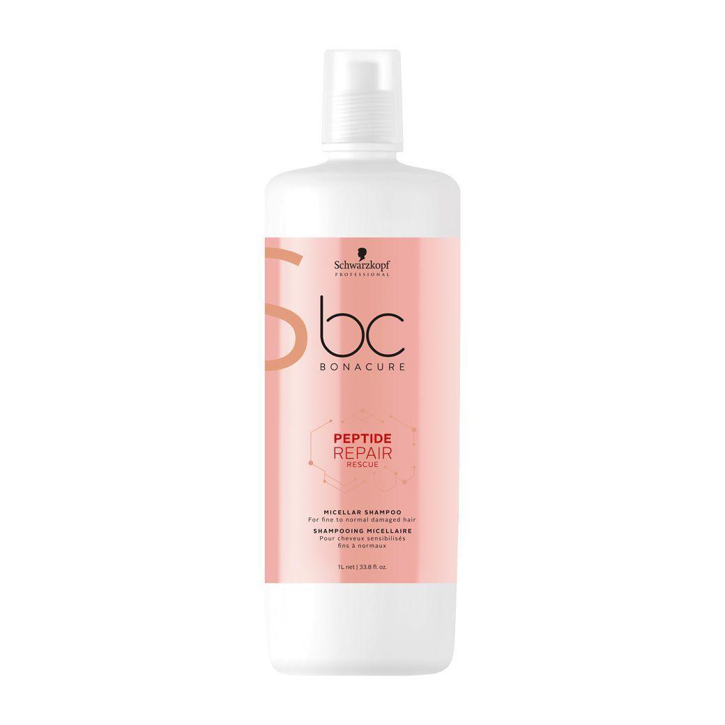 Schwarzkopf Professional - BC Bonacure - Peptide Repair Rescue - Shampoo Micelar 1000 ml