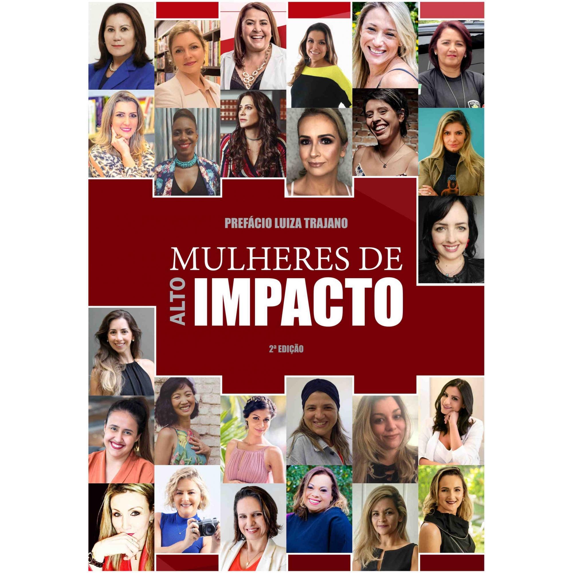 LIVRO MULHERES DE ALTO IMPACTO - 2ª EDIÇÃO