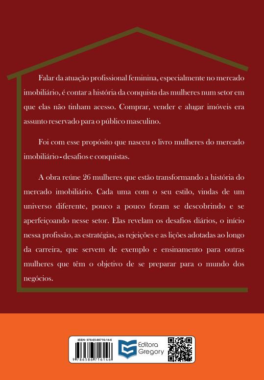 LIVRO MULHERES DO MERCADO IMOBILIÁRIO - DESAFIOS E CONQUISTAS
