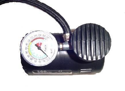 Mini Compressor de Ar 12V 300 PSI para Pneus, Bolas e Infláveis para Acendedor de Cigarro