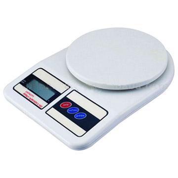 Balança para Cozinha Digital - Capacidade de Pesar até 7Kg - Divão de 1grama - SF-400
