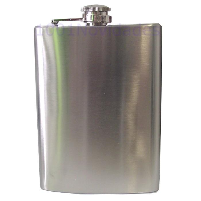 Garrafa Cantil Porta Whisky de Bolso em Inox para Bebidas 8Oz (230ml)