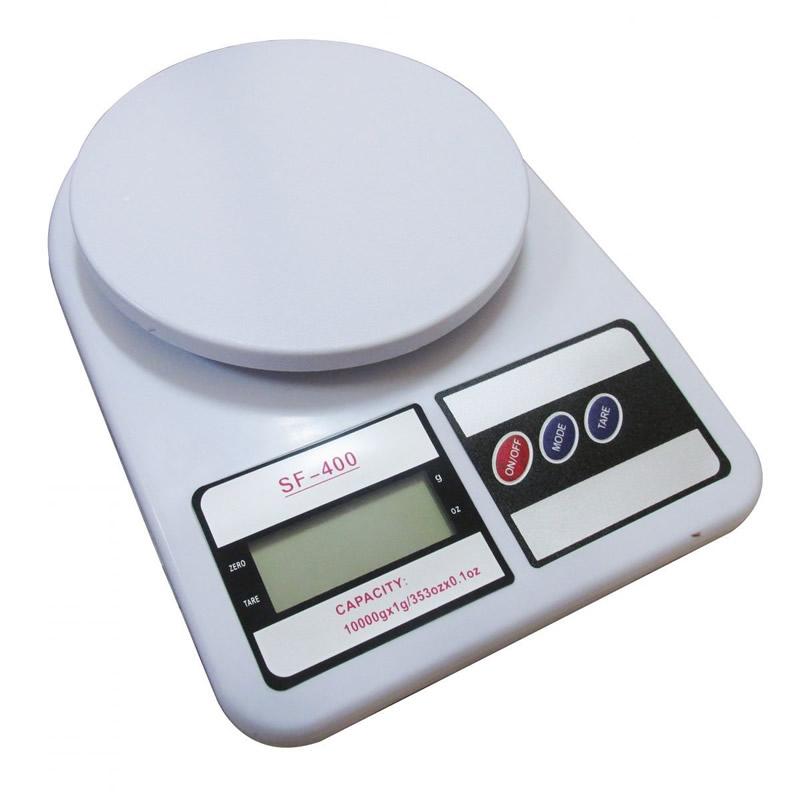 Balança para Cozinha Digital 10Kg Divão de 1grama SF-400