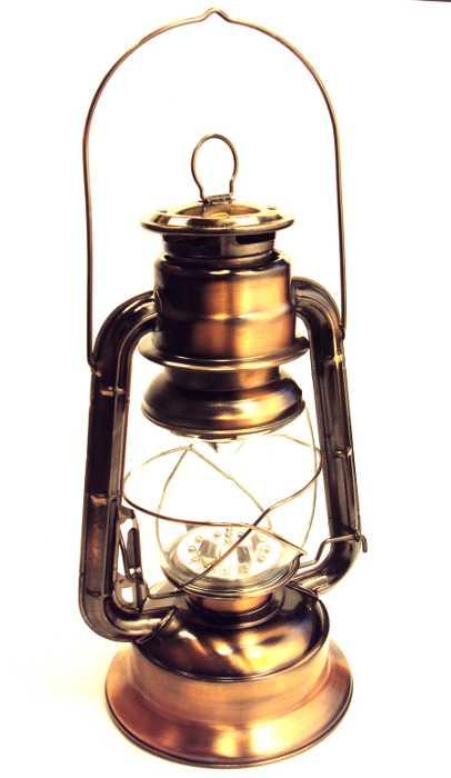 Lampião a LED com 21 Leds de Grande Luminosidade a Pilha - M-5609