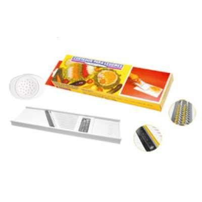 Cortador Ralador para Legumes Dupla Face Keita CD01
