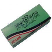 Grampo Galvanizado para Grampeador de Tapeceiro 3500 Grampos - Rocama - 106/6