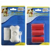 Kit Coletor de Fezes Higiênico para Cães e Gatos + Kit de Refil de Saquinhos